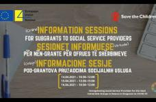 Information sessions / Sesionet informuese / Informacione sesije