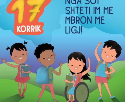 Hyn në fuqi Ligji për Mbrojtjen e Fëmijës në Kosovë. Save the Children dhe Syri i Vizionit bëjnë thirrje për respektim të këtij ligji dhe ndalim të ndëshkimit trupor në të gjitha mjediset.