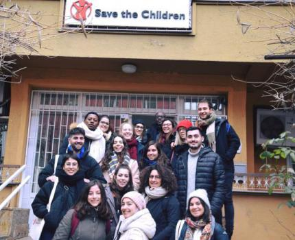 EMA students visit Save the Children in Kosovo