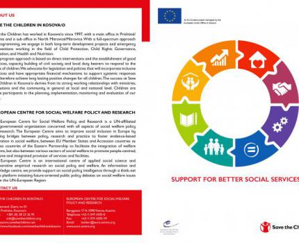 Paving the path for better Social Services for the Most Vulnerable Groups