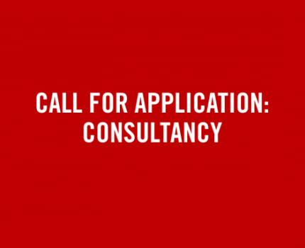 Call for Application: Consultancy
