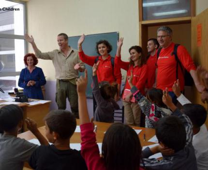 CEO of Save the Children Switzerland Visits Save the Children in Kosovo