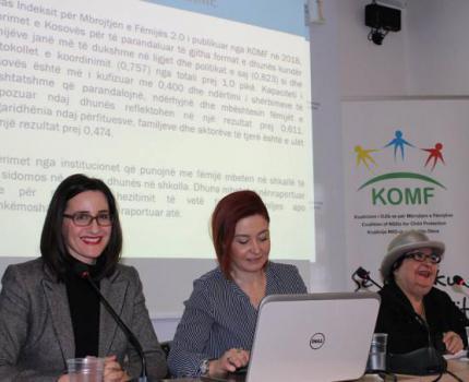 Press Conference on Violence Against Children