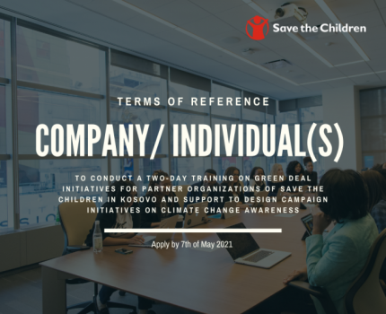 Terms of References: Company/Individual