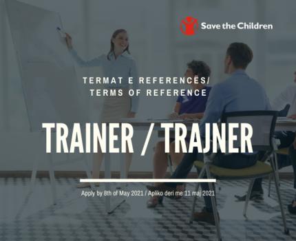 Trainer/ Trajner