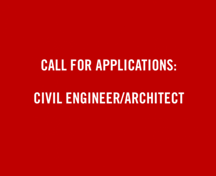 Call for Applications: Civil Engineer/Architect